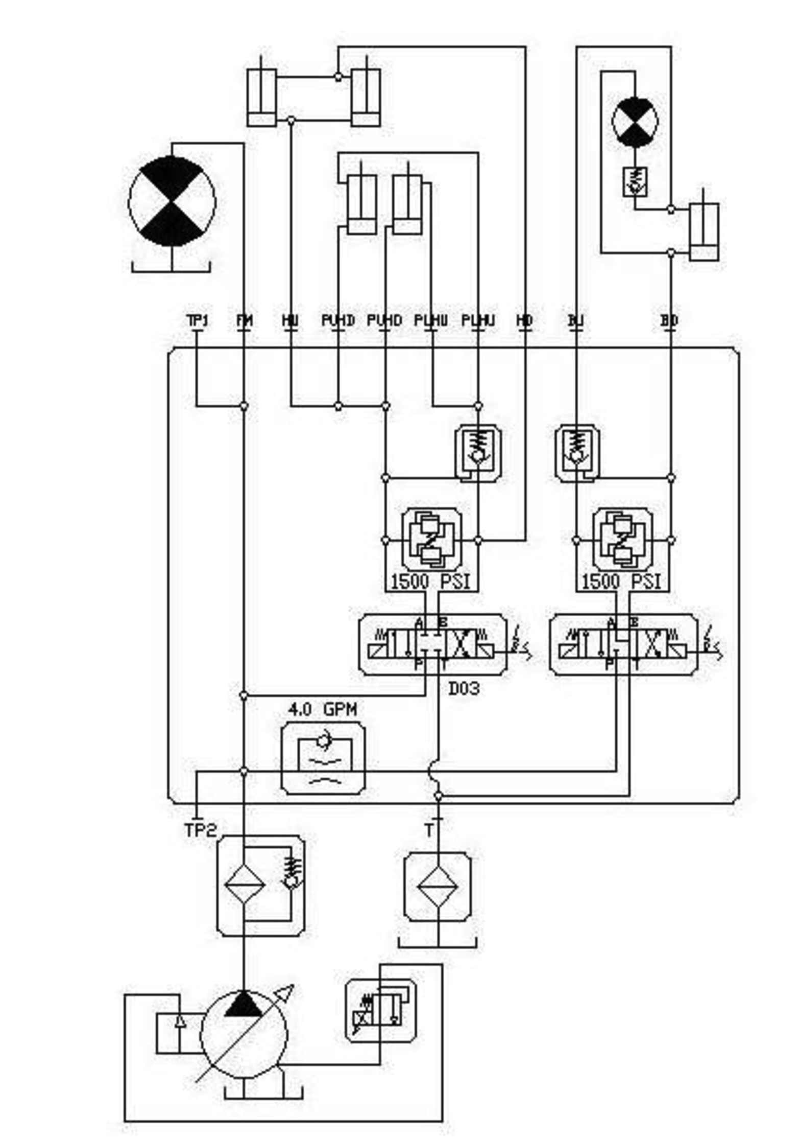 osprey hydraulic schematic hydraulic schematic legend hydraulic schematic #8